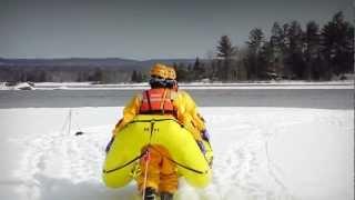 Ice Rescue Technician Training - Self Study Video - Petawawa Fire Dept.