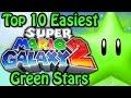 top 10 easiest super mario galaxy 2 green stars