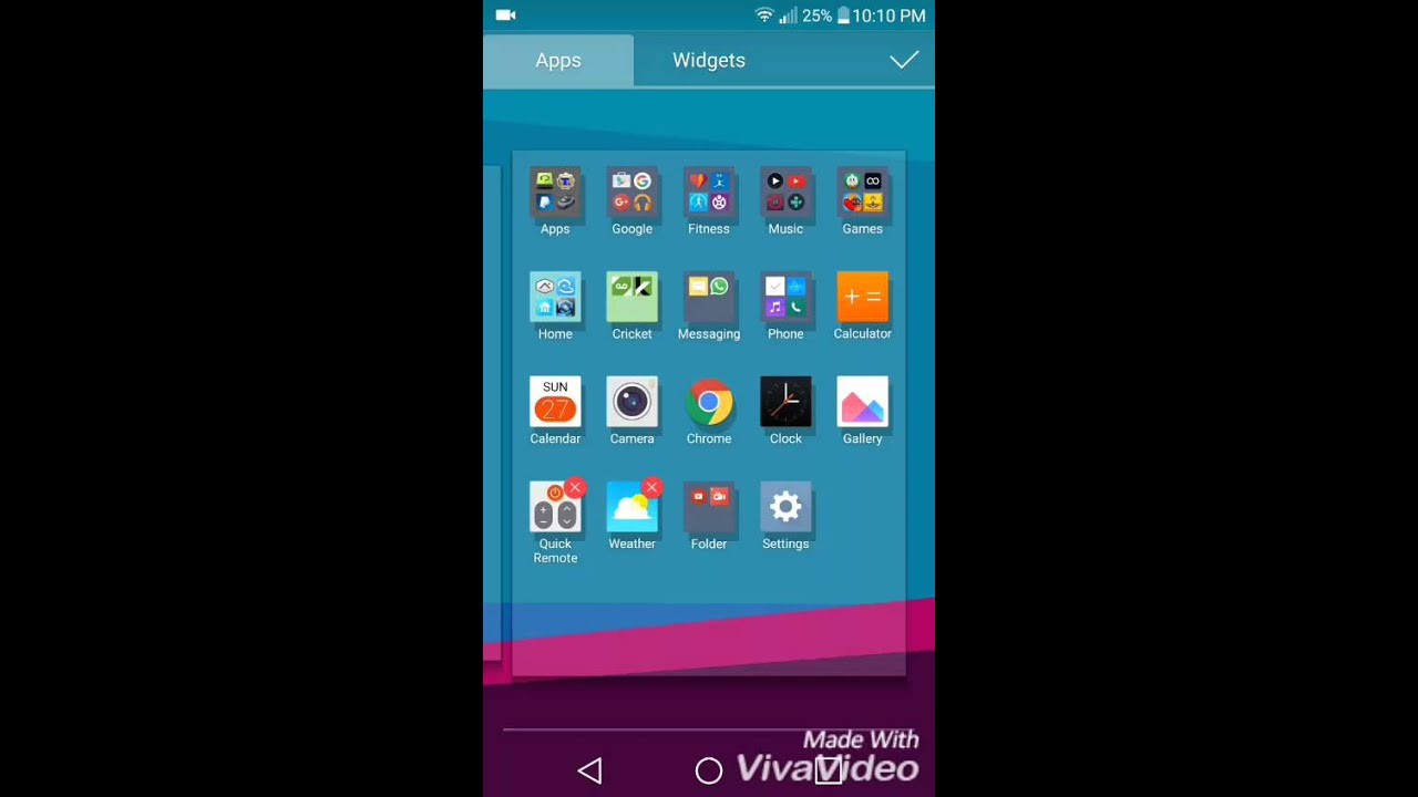App Drawer Folders