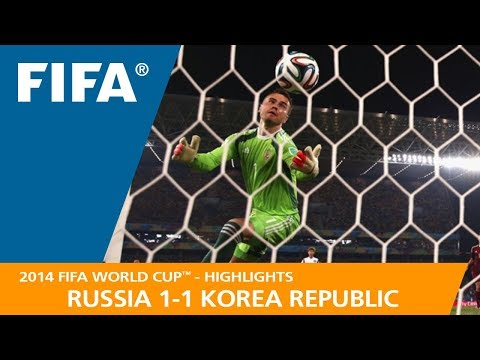 RUSSIA v KOREA REPUBLIC (1:1) - 2014 FIFA World Cup™