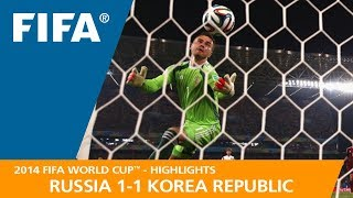 RUSSIA v KOREA REPUBLIC (1:1) - 2014 FIFA World Cup™