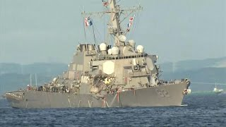 Heroic efforts to save Americans in Navy ship collision