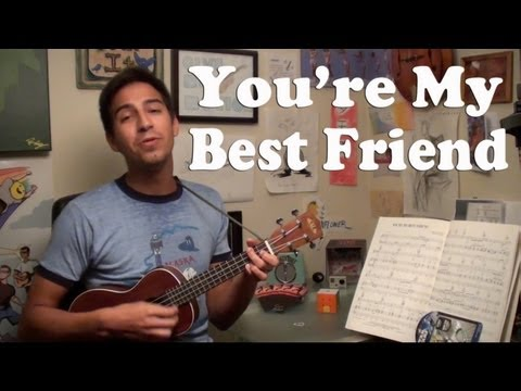 Queen - You're My Best Friend (ukulele cover by Give Me Motion)
