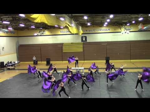Spanish Springs High School Colorguard - 2/13/16