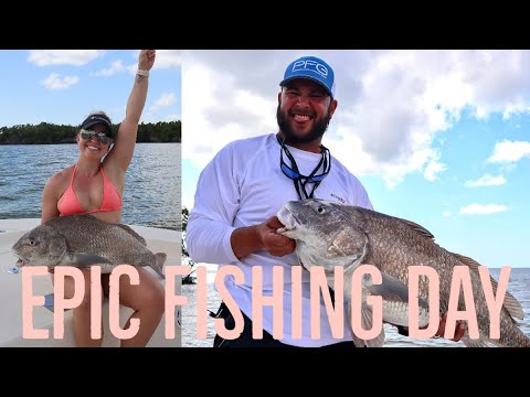 EPIC FISHING | CHOKOLOSKEE | MONSTER BLACK DRUM | CATCH AND CLEAN