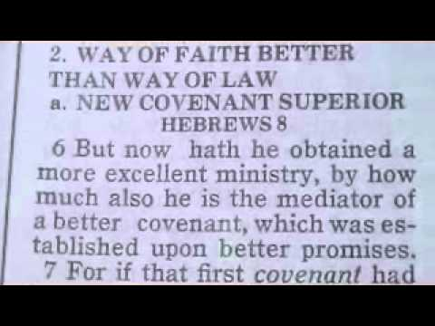 1114 Hebrews 8 Chronological Bible (the mediator of a better covenant)