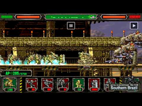 [Metal Slug Defense 1.5.0] Southern Brazil