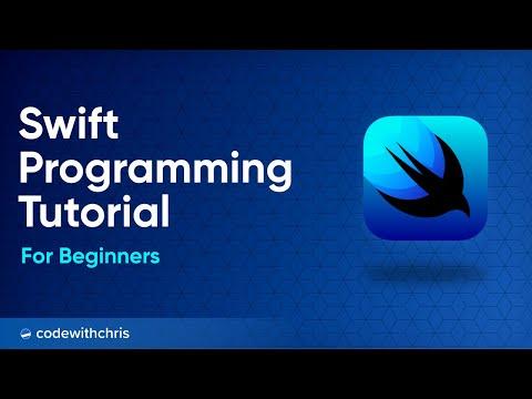 Swift Programming Tutorial for Beginners (Full Tutorial