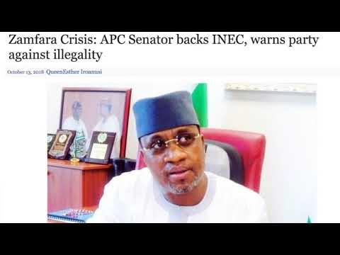 Senator Marafa - The Man Who Does Not Trust His Party (APC)