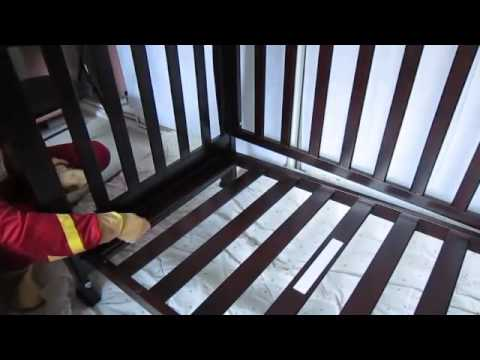 Baby Cot Assembly Instruction - Main Frame Part 3 of 3 ...