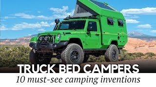 Top 10 Truck Campers Available Today: Reviewing Slide-in and Pop-up Models for Pickups