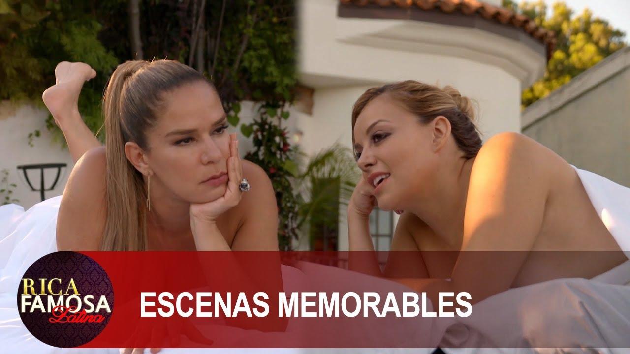 Elisa y Rosie se relajan con un buen masaje y con un buen chisme | Rica Famosa Latina | Temporada 1