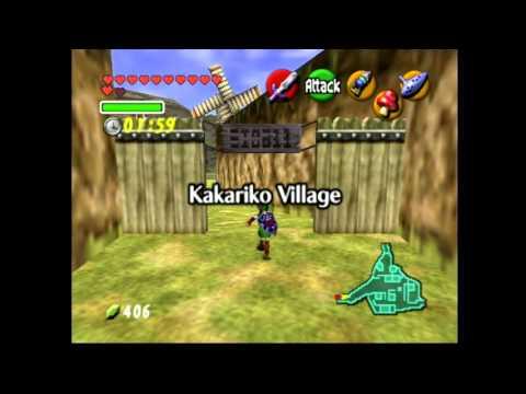 Legend of Zelda: Ocarina of time - Odd Mushroom Run