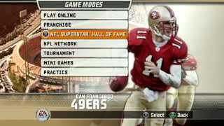 MADDEN NFL 2007 SUPERSTAR MODE - INTERVIEWS WORKOUTS AND DRAFT