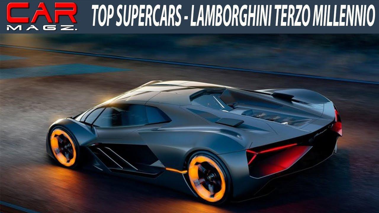 Lamborghini Terzo Millennio Interior Exterior Video