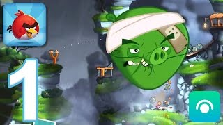 Angry Birds 2 - Gameplay Walkthrough Part 1 - Levels 1-5 [Chef Pig Boss] (iOS, Android)