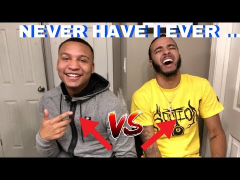 HILARIOUS NEVER HAVE I EVER FT. MY COUSIN KENNY !!!! (questions from fans) 😂😂