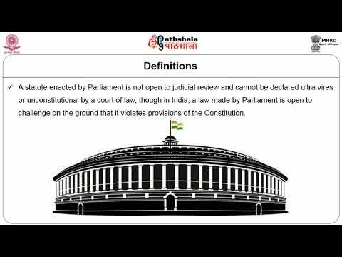 Delegation Legislation Administrative Tribunals