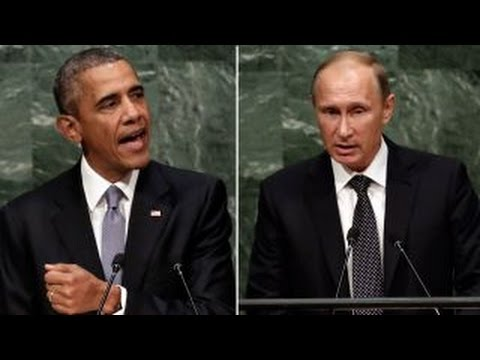 Putin asked if Obama's foreign policy reflects 'weakness'