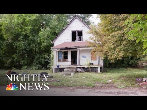 Can Detroit's Abandoned Communities Rise From Ruin? | NBC Nightly News