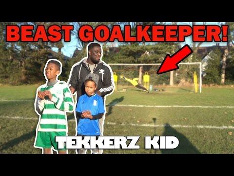 FREEKICK Training Vs BEAST Goalkeeper!! | Forfeit Penalty Shootout!! | Tekkerz Kid