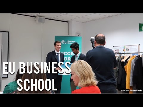 EU BUSINESS SCHOOL- BARCELONA TRIP