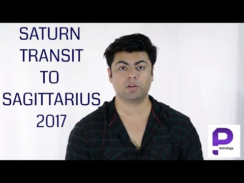 Saturn Transit in Sagittarius 2017 in Vedic Astrology by Punneit - Shani Gochar