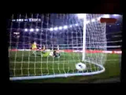 Chievo Milan 0-1 Golazzo Muntari Amazing goal Football