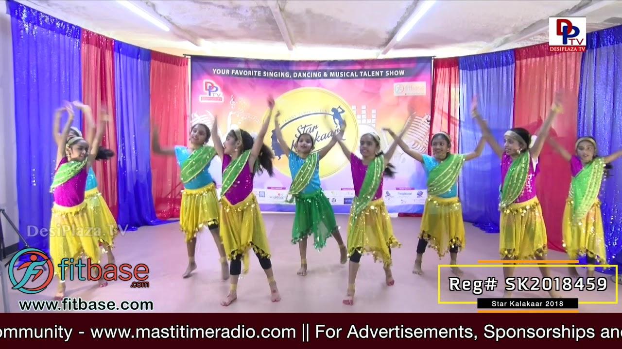 Participant Reg# SK2018-459 Performance - 1st Round - US Star Kalakaar 2018 || DesiplazaTV