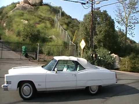 1974 Cadillac Eldorado Convertible Restored Droptop Cadi ...
