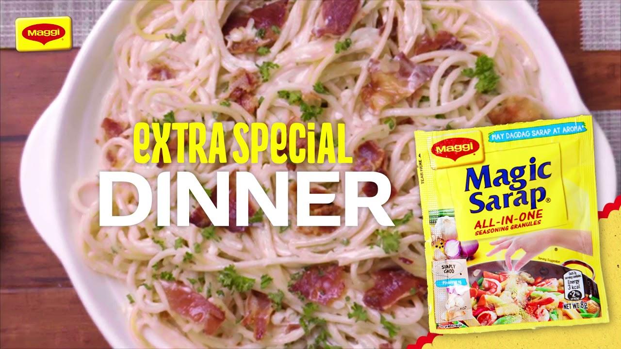 Extra Special Dinner: Bacon-Loaded Carbonara