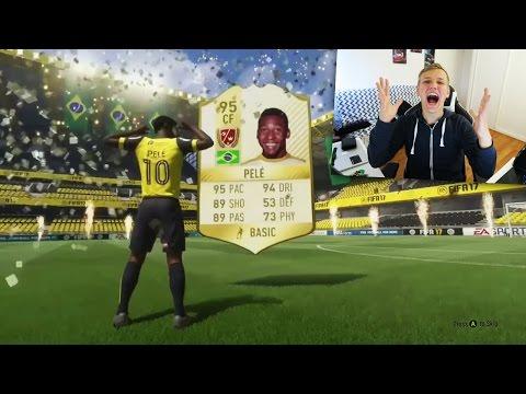 PELE DANS UN PACK !! LES MEILLEURS PACK DE FIFA 17 !!
