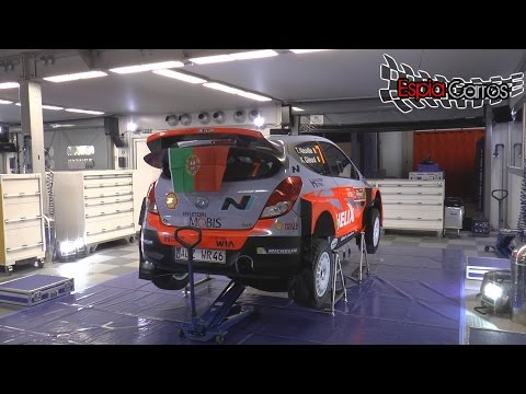 ★★★★★ WRC Vodafone Rally De Portugal 2015 - Service Park  ( Full HD ) 1080P/60FPS