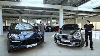 Универсальный автомобиль. Porsche Cayenne GTS vs Mini Countryman | Это ваша машина