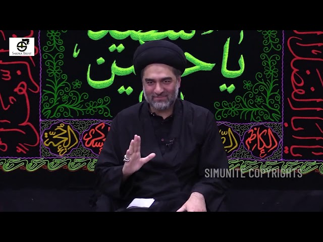 5th Muharram 1442/2020| Topic Dua Majlis | Imamia Mission East London | Maulana Syed Ali Raza Rizvi