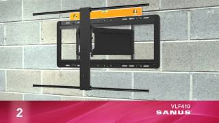 How to Install Your SANUS VLF410 TV Mount