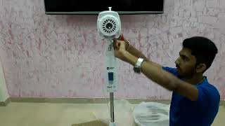 ORIENT ELECTRIC STAND FAN ( HIGH SPEED) [2000Rpm] Unboxing and Assembling