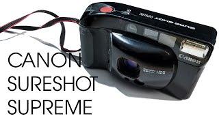 Canon Sureshot Supreme AKA Top Shot AKA Autoboy 3 35mm Film Vintage Retro Camera Video