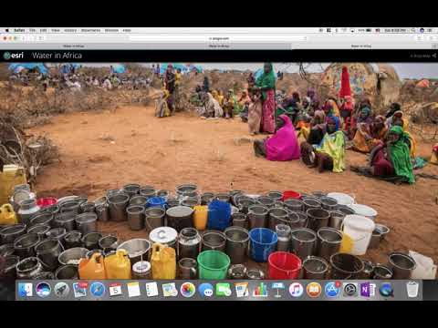 Water in Africa story map