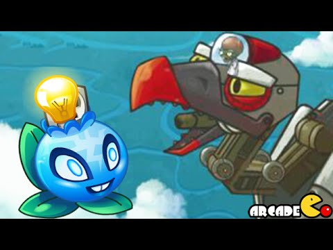 Plants Vs Zombies 2: New World Sky Castle Zomboss! (PVZ 2 Ch