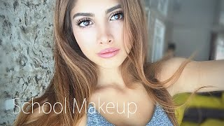 Макияж для школы/School Makeup(Школьный макияж для подростков 2015 1.Maybelline prime master blur+smooth 2.Cover fx kit 3.Naked 2 urban decay 4.Nyx Love in Paris merci beaucoup ..., 2015-08-29T10:32:53.000Z)