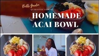 DIY Playa Bowl: Acai Bowl