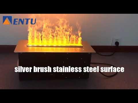 2017 ENTU 3D fireplace Steam fireplace water vapor