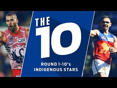 The 10: Best moments from Indigenous stars | Round 1-10, 2018 | AFL