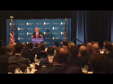 AG Jeff Sessions jokes about California courts with fellow conservatives