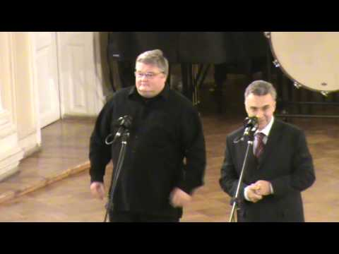 The Official Inauguration of the organ in Saint Petersburg Conservatory (1)
