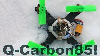 ✔Q-Carbon85 Полеты на Нано Квадрокоптере и Вывод по модели!