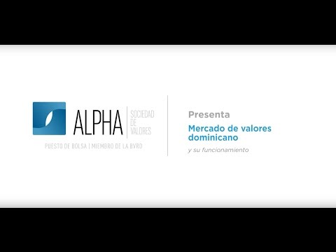 Alpha Ebook: Mercado de Valores Dominicano y su funcionamiento.