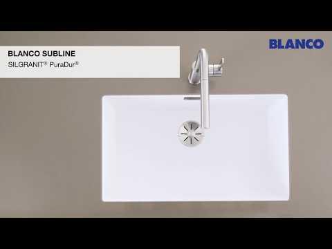 Мойки для кухни BLANCO SUBLINE-U с установкой под столешницу