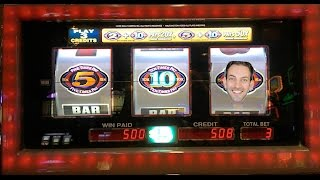 HAND PAY on 2X10X5X BONUS TIMES ✦Live Play✦ Slot Machines in the US & Canada!